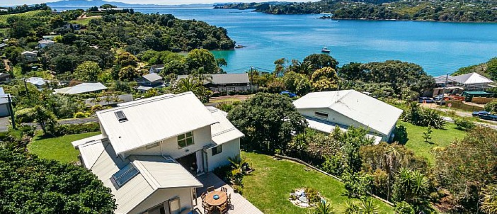 Double Bay Views | Logo | Waiheke.co.nz